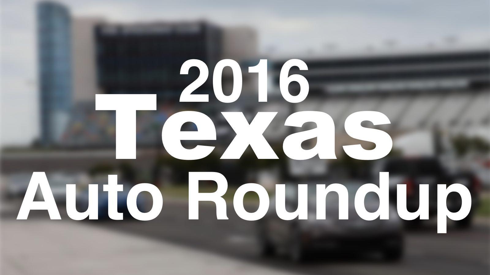 The 2016 Texas Auto Roupdup