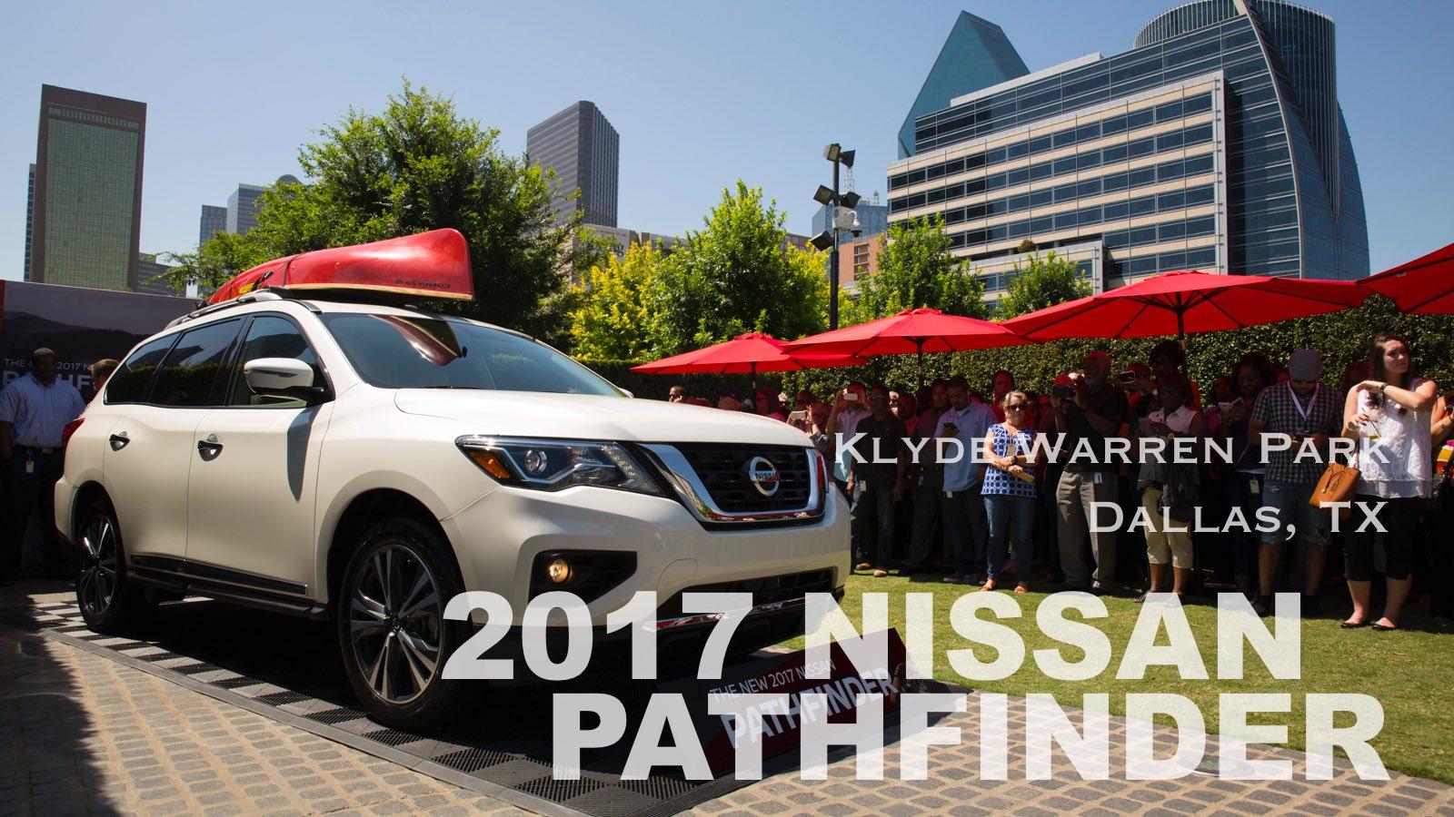 Nissan S New Pathfinder Debuts In Dallas While Dallas