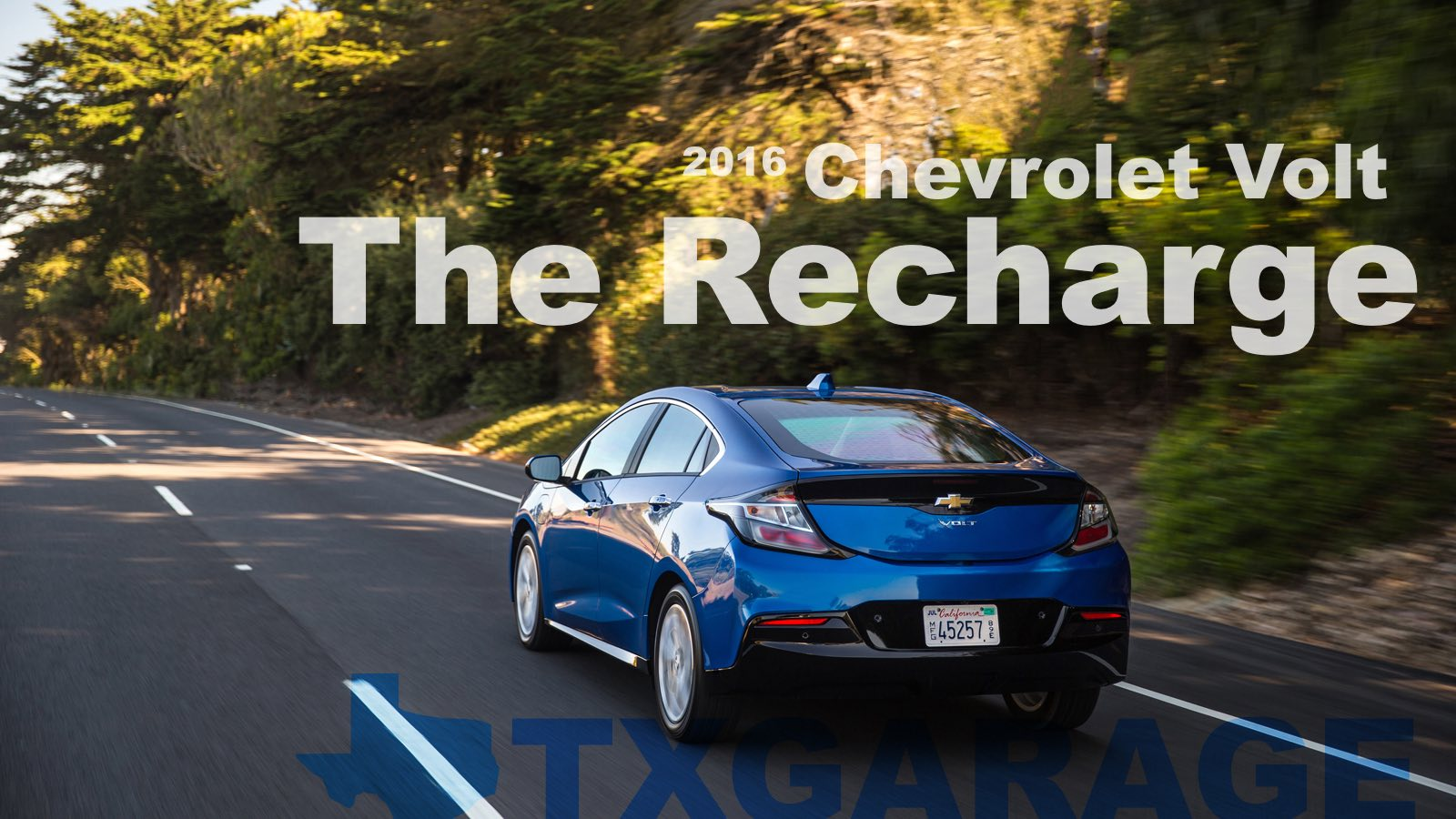 The 2016 Chevrolet Volt - The Recharge