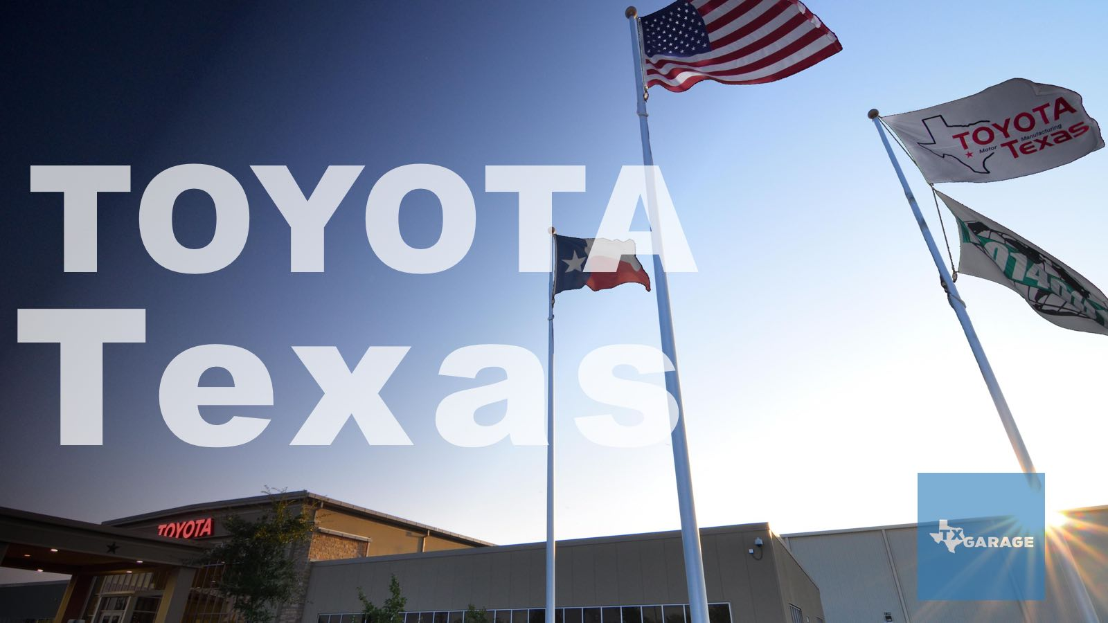 A Look Inside Toyota's Truck Plant: San Antonio Rose