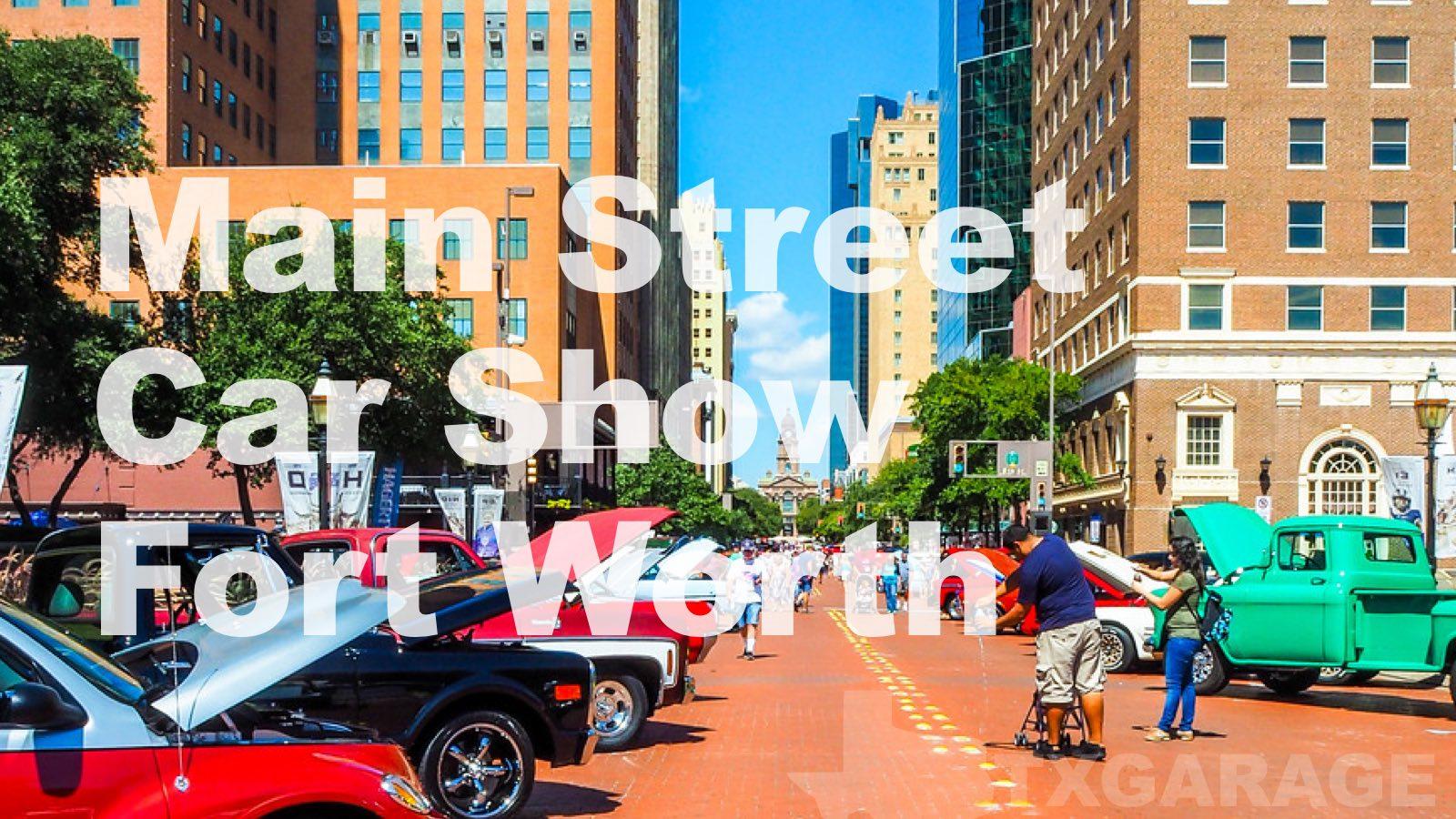 Mainstreetcarshowcover TxGarage - Main street car show