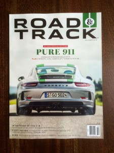 Road & Track magazine is written for the automotive enthusiast and contains information about cars and driving blended with wide-ranging feature stories, entertainment and racing coverage.