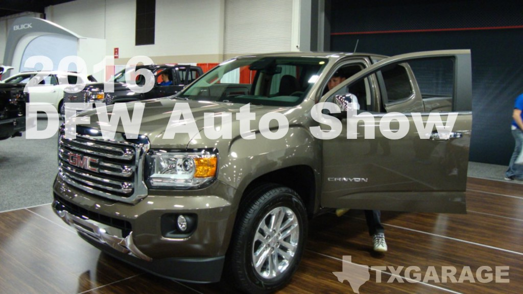 2016 DFW Auto Show - Fort Worth, Texas