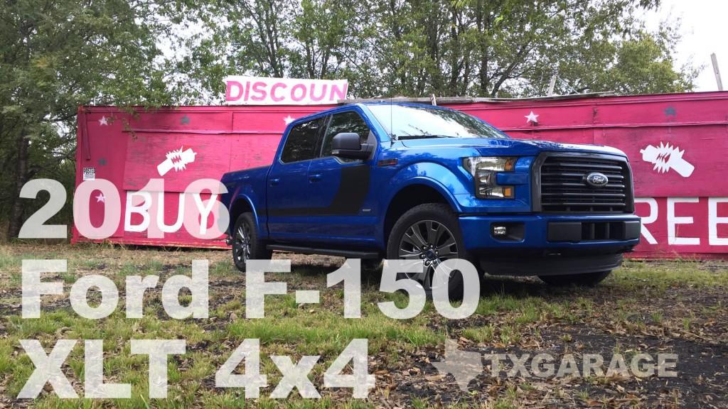 2016 Ford F-150 XLT 4x4