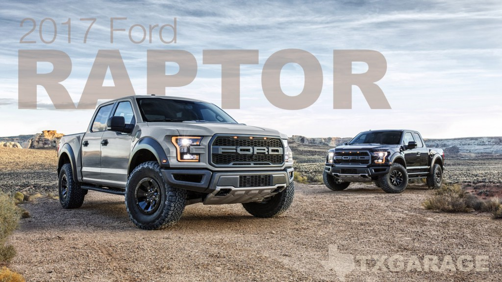The 2017 Ford Raptor
