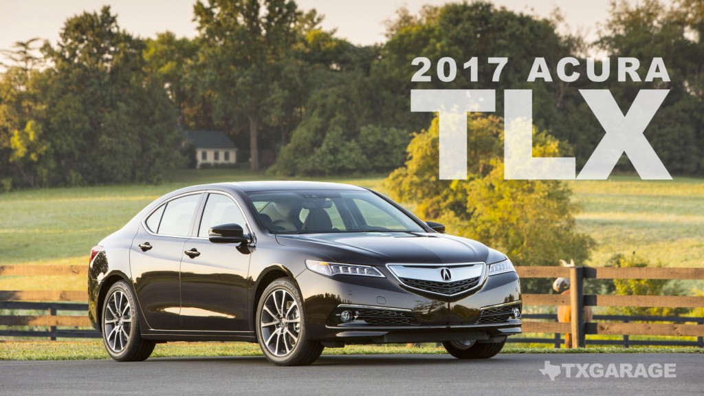 2017 Acura TLX reviewed by David Boldt - txGarage