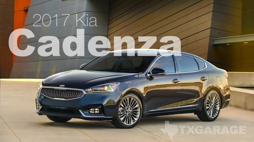 2017 Kia Cadenza reviewed by David Boldt - txGarage