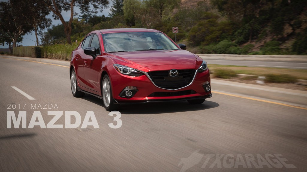 2017 Mazda 3 Sedan reviewed by David Boldt - txGarage