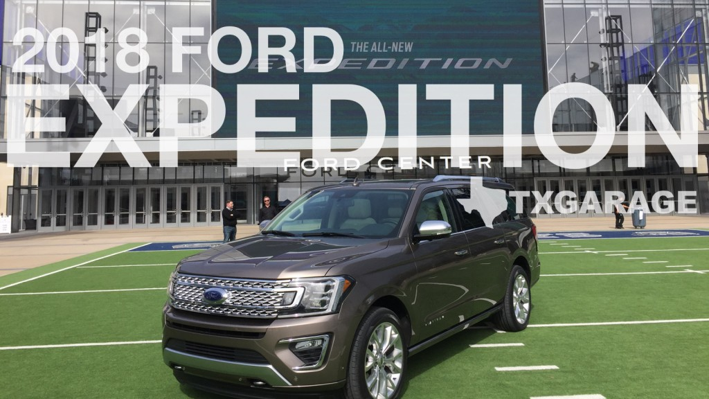 The all new Ford Expedition - Texas reveal by Jesus Garcia