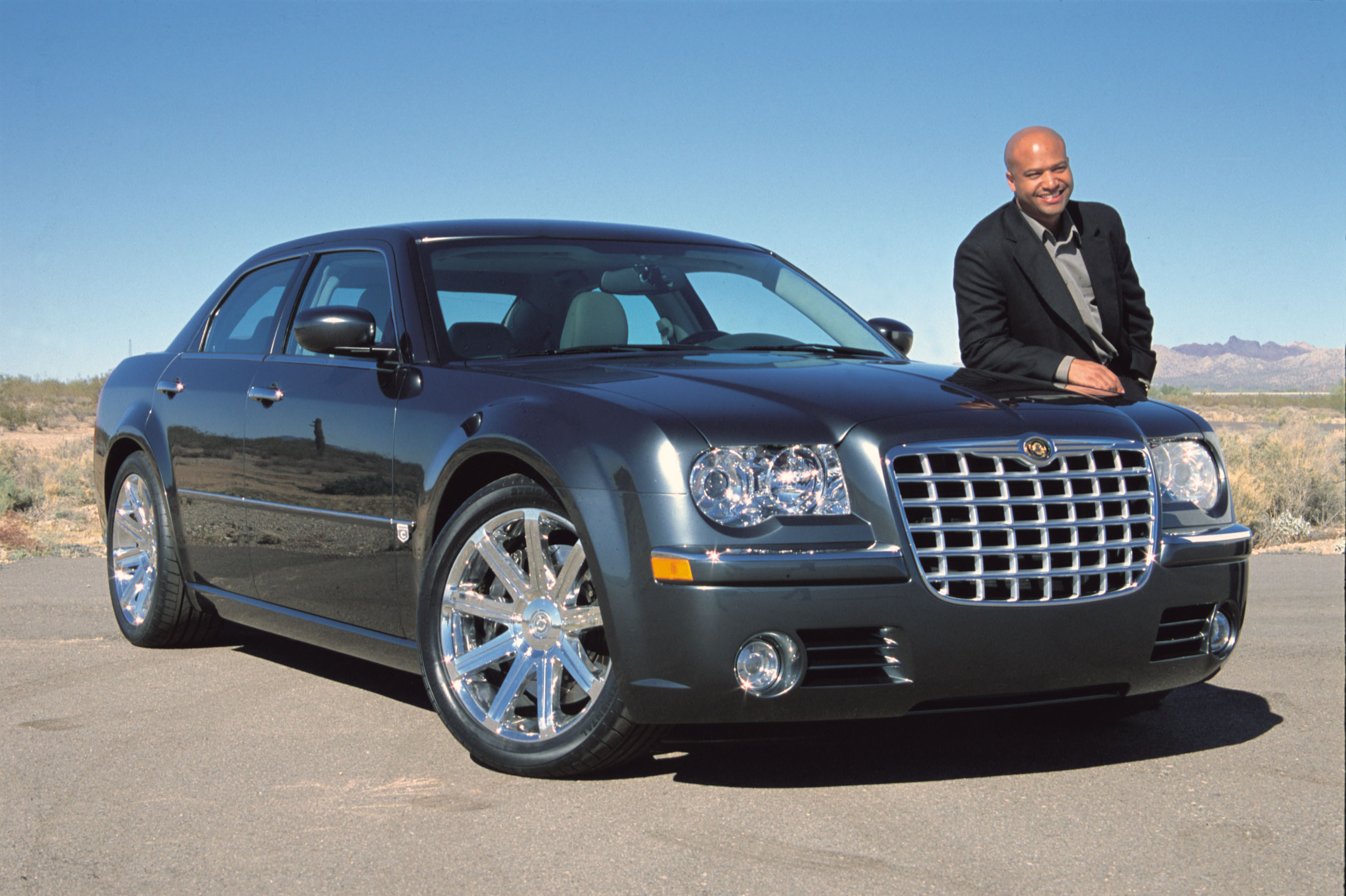 Chrysler 300C Concept with  Ralph Gilles