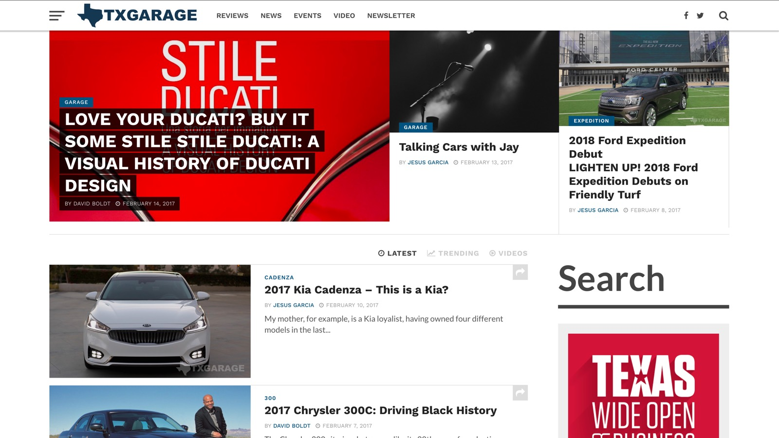 V7 Homepage