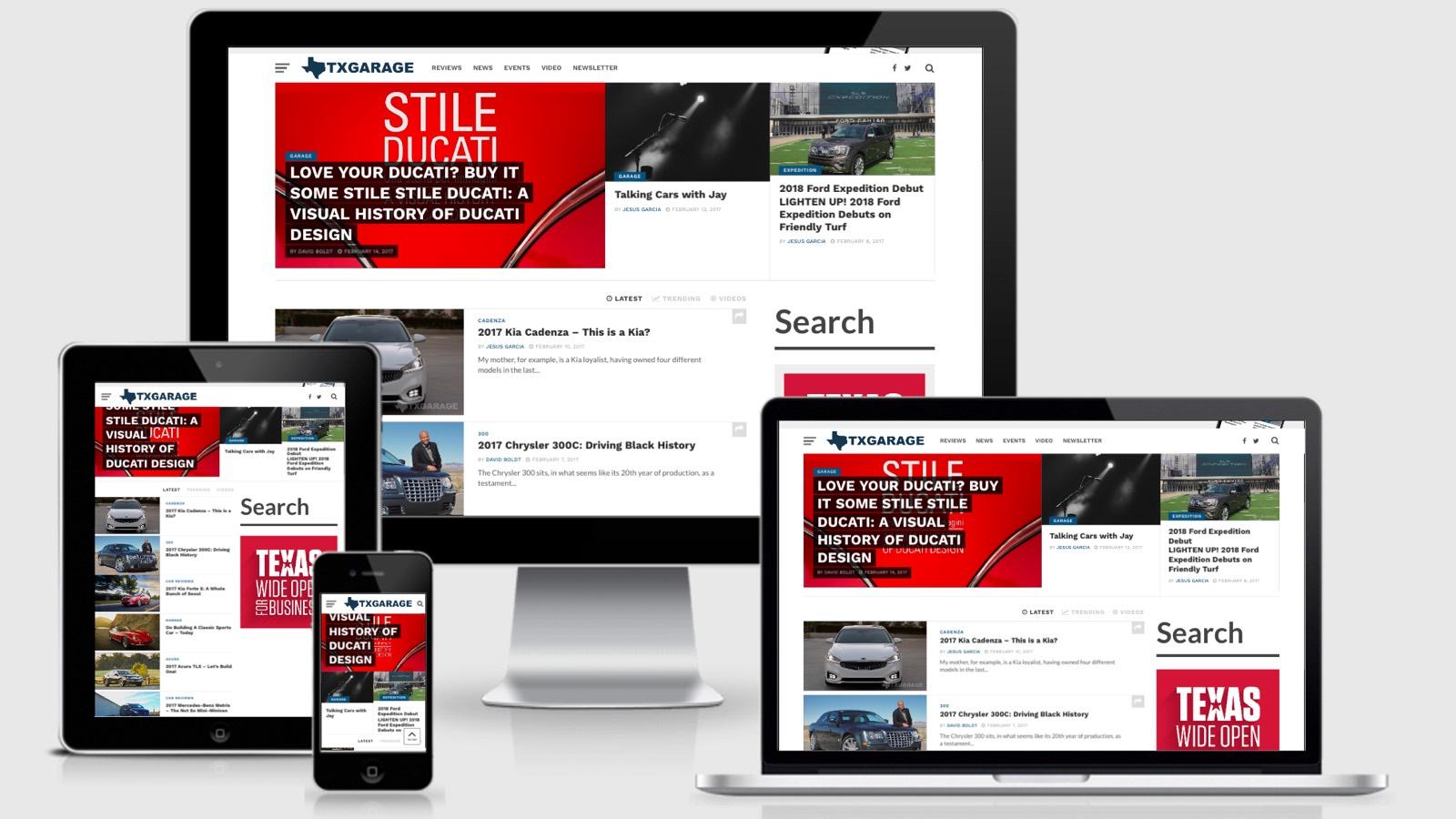 V7 Responsive Homepage