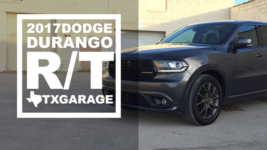 2017 Dodge Durango R/T by TXGARAGE