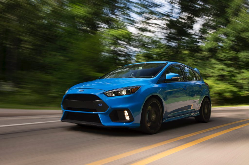 2017 Ford Focus Rs Best Performance In A Motion Picture