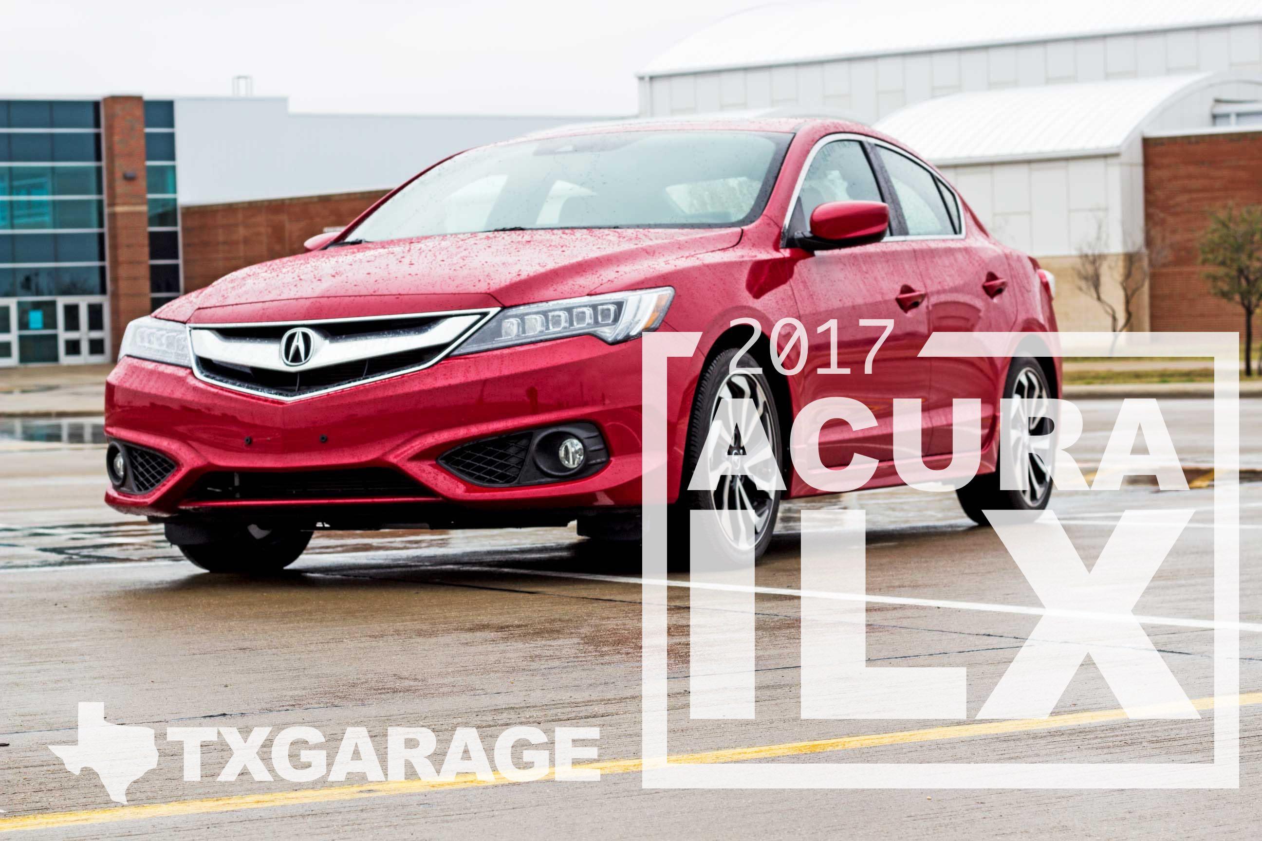 2017 Acura ILX cover