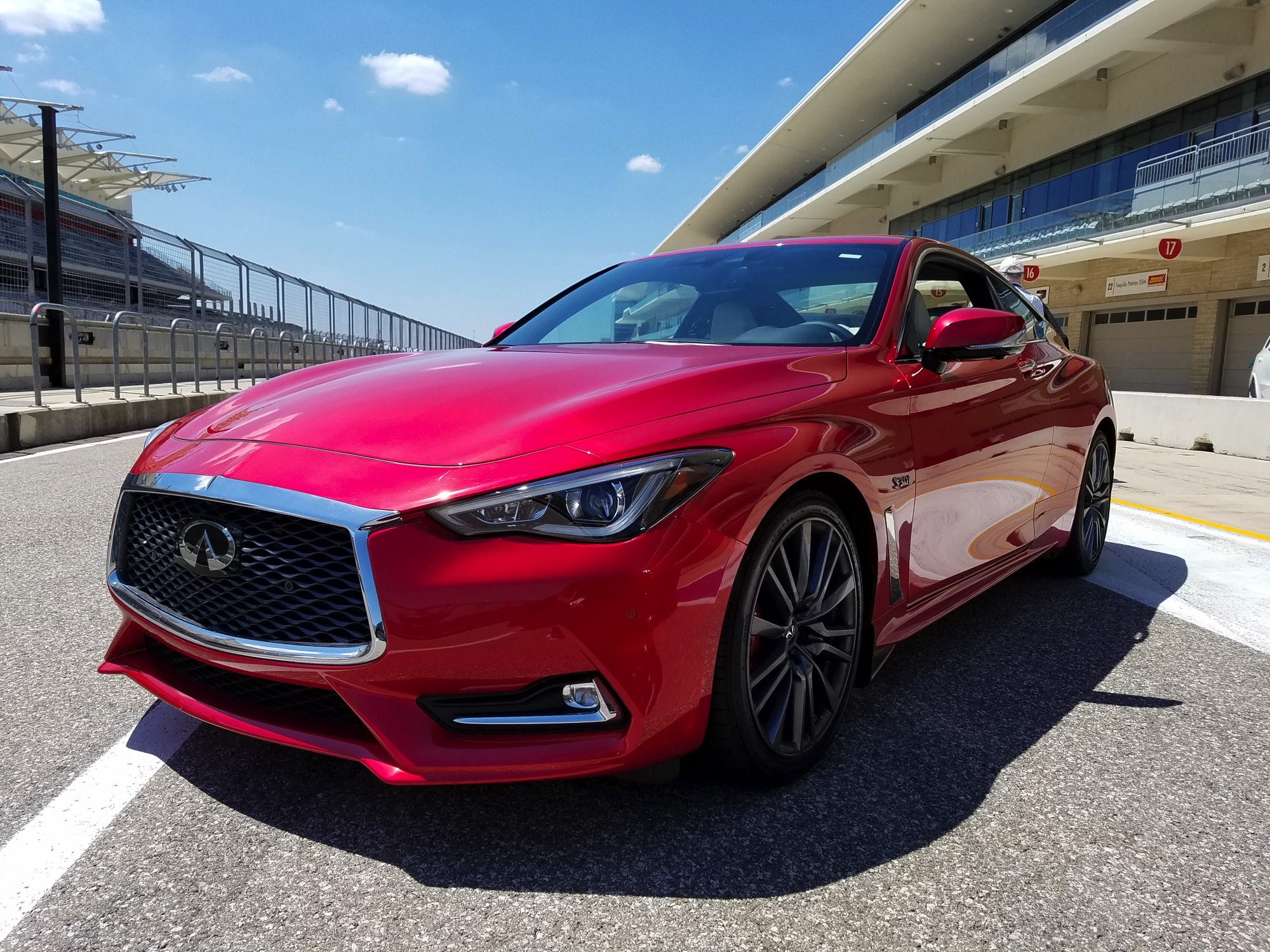 2017 infiniti q60 red sport 400 the lady in red txgarage. Black Bedroom Furniture Sets. Home Design Ideas