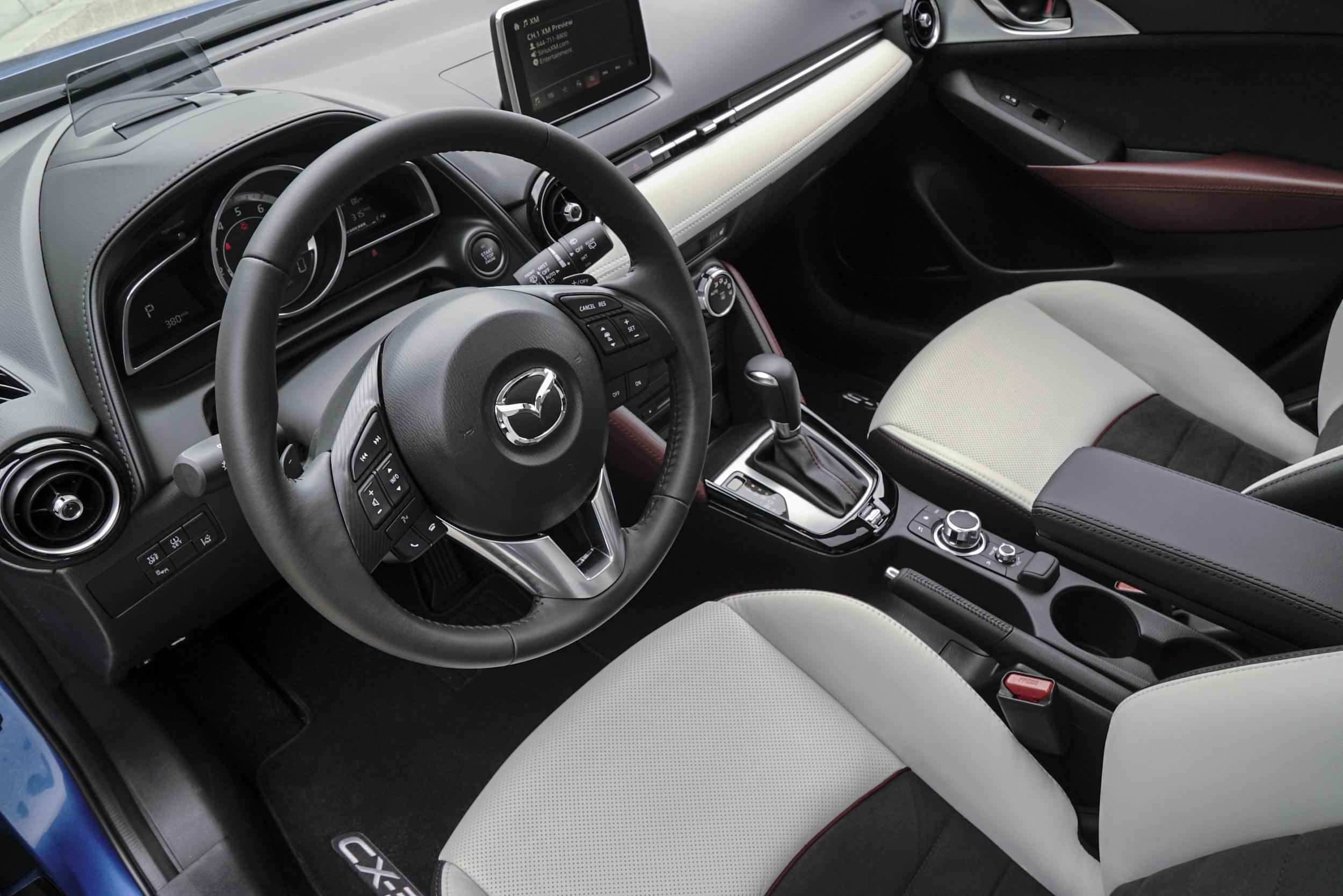Mazda CX-3 Interior 4