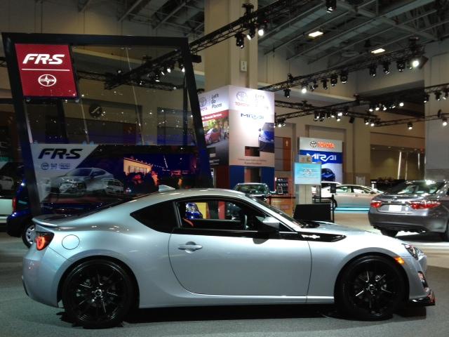 Scion FR-S Auto Show