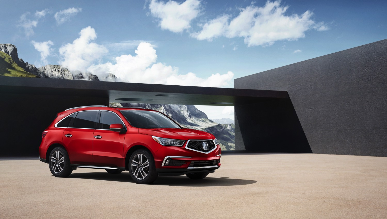 01 – 2018 Acura MDX with Advance Package – San Marino Red