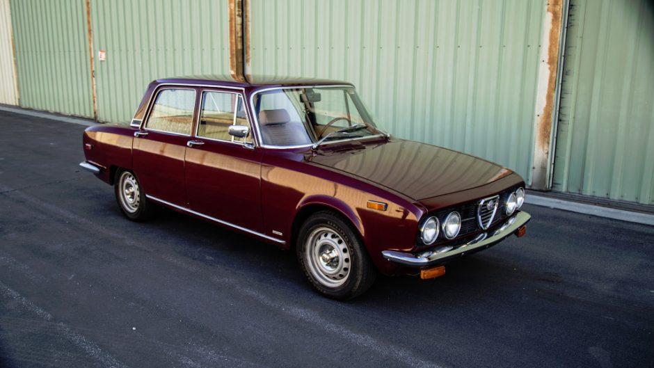 1974 Alfa Berlina (sedan)