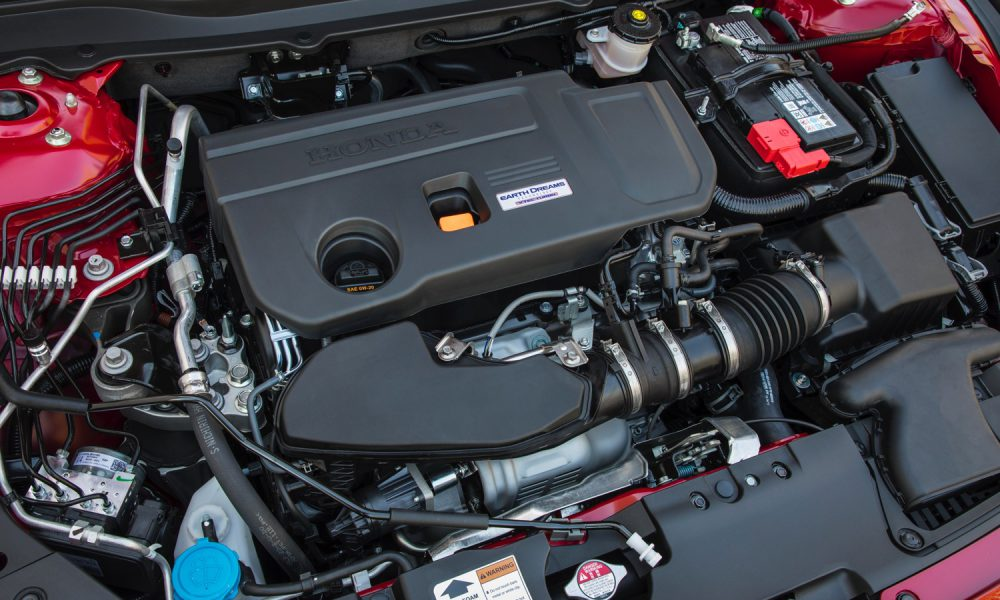 The Accord's 2.0T engine