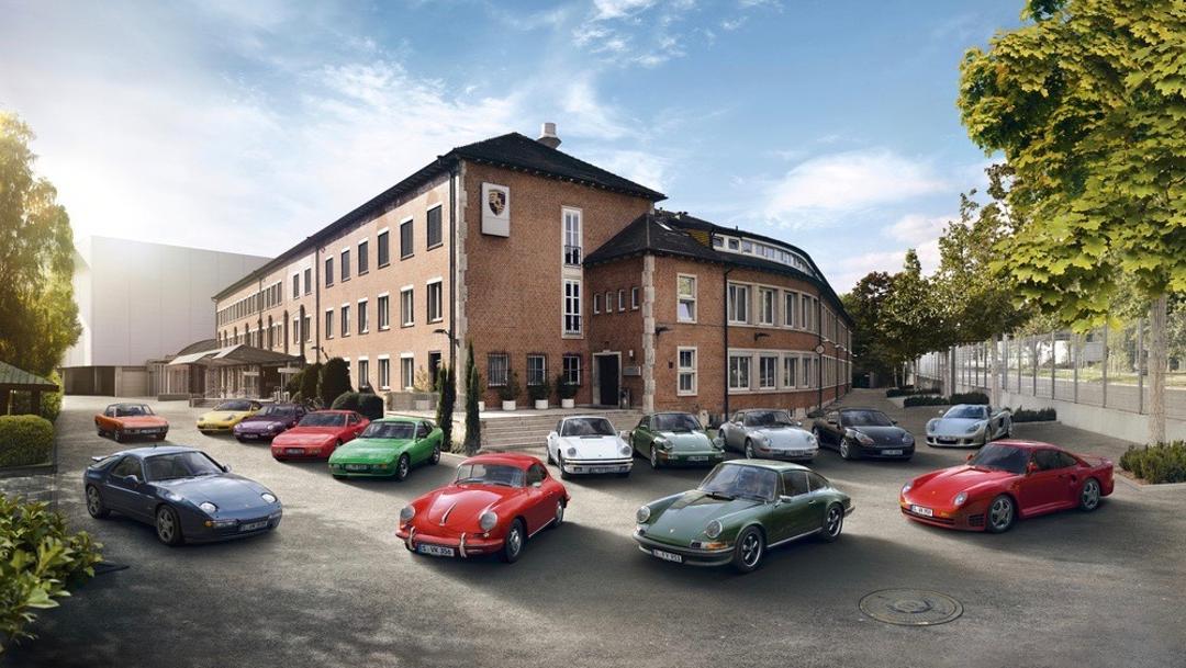 Porsche Classic Range – Courtesy Porsche