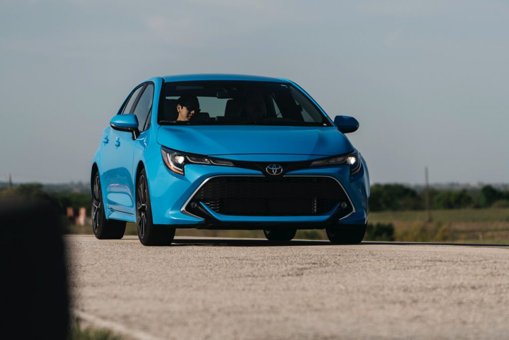 2019 Toyota Corolla Hatch at the TX Auto Roundup