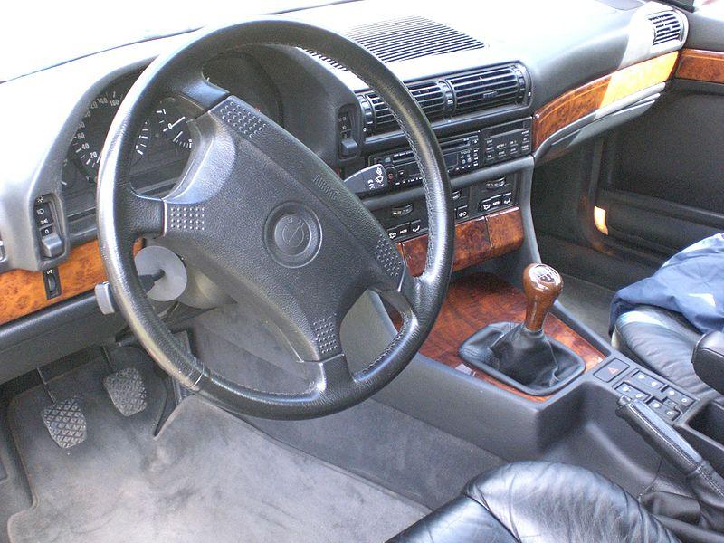 BMW 7 Series E32 Interior