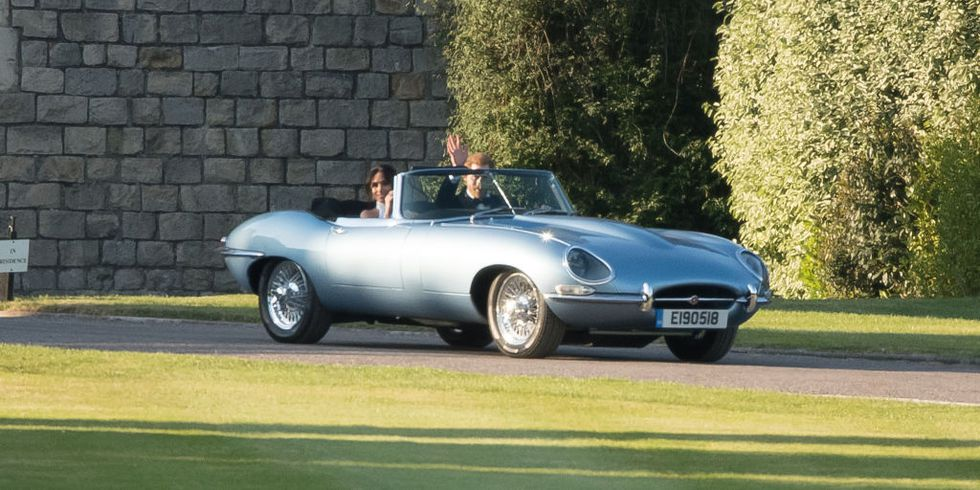 Harry Megan E-Type Getty