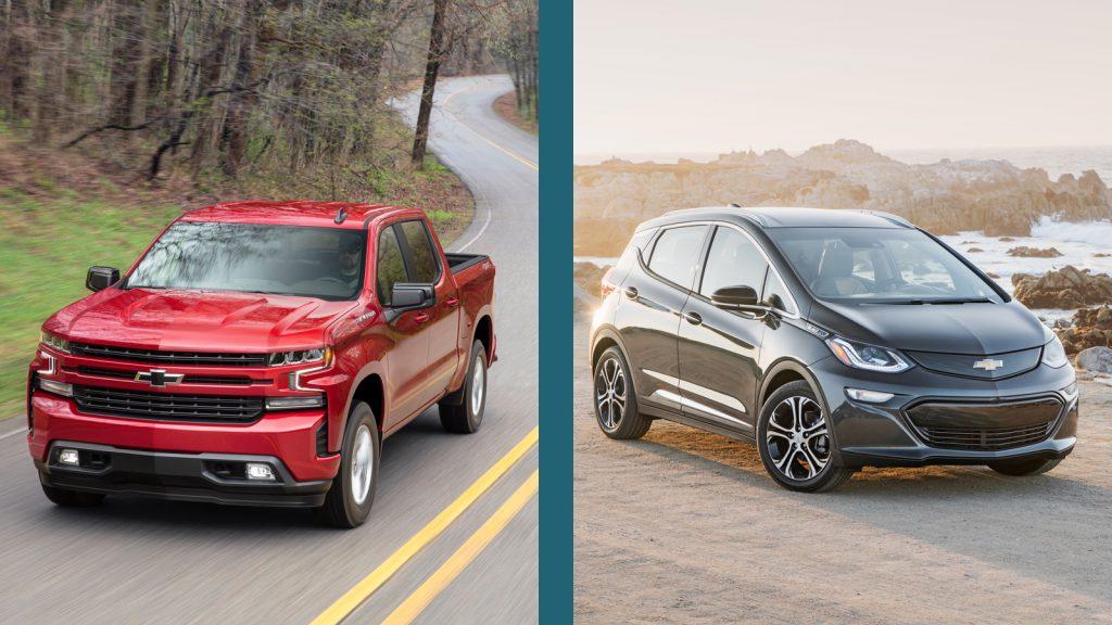 Chevrolet Silverado vs Chevrolet Bolt EV