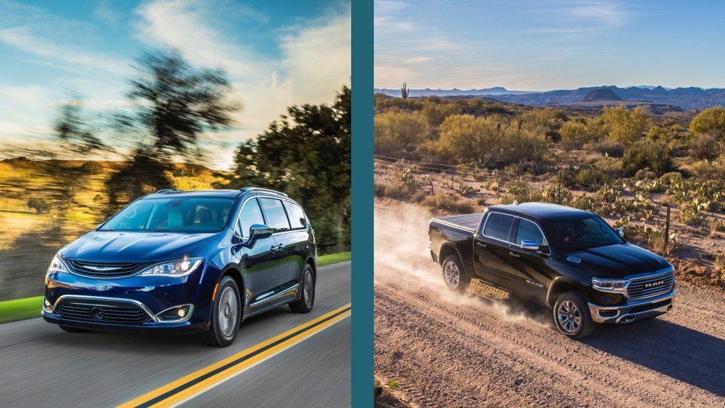 Ram 1500 vs Chrysler Pacifica Plug-In Hybrid