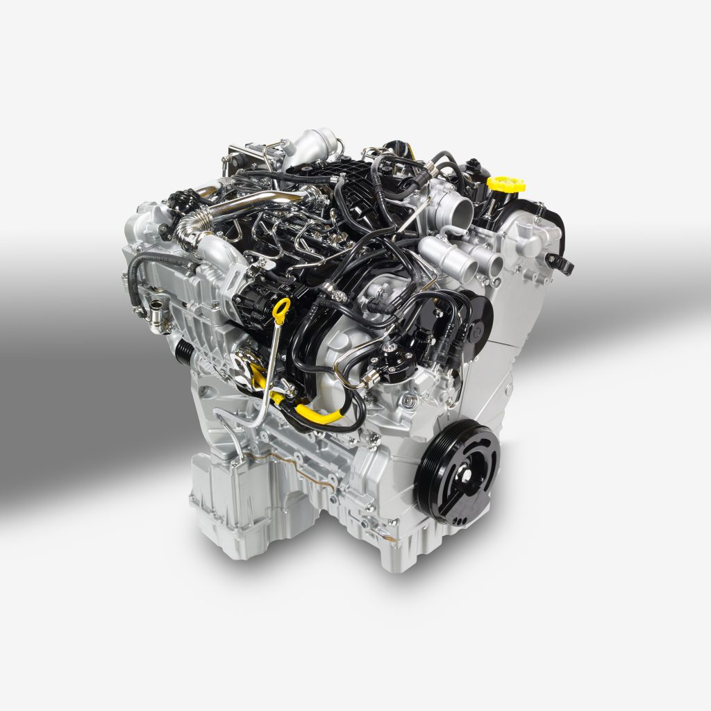Ram's 3.0-liter EcoDiesel V-6 engine