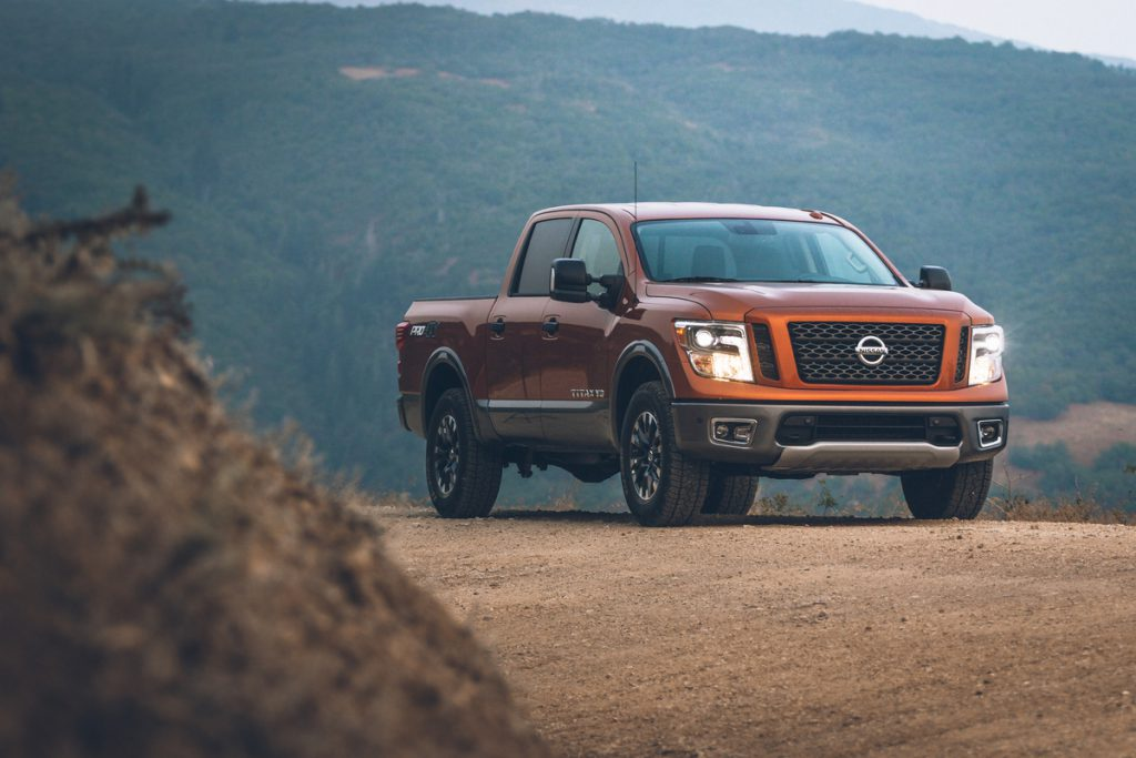 "All 2019 TITAN and TITAN XD models are covered by Nissan's ""America's Best Truck Warranty""3 – featuring bumper-to-bumper coverage of 5-years/100,000-miles, whichever comes first. Vehicles covered by the new warranty, which includes basic and powertrain coverage, include all TITAN V8 gasoline-powered models and diesel and V8 gasoline-powered 2019 TITAN XD models."