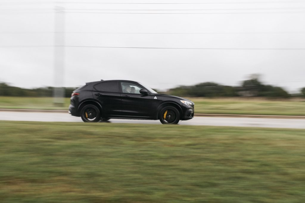 CUV OF TEXAS Winner: 2018 Alfa Romeo Stelvio Quadrifoglio