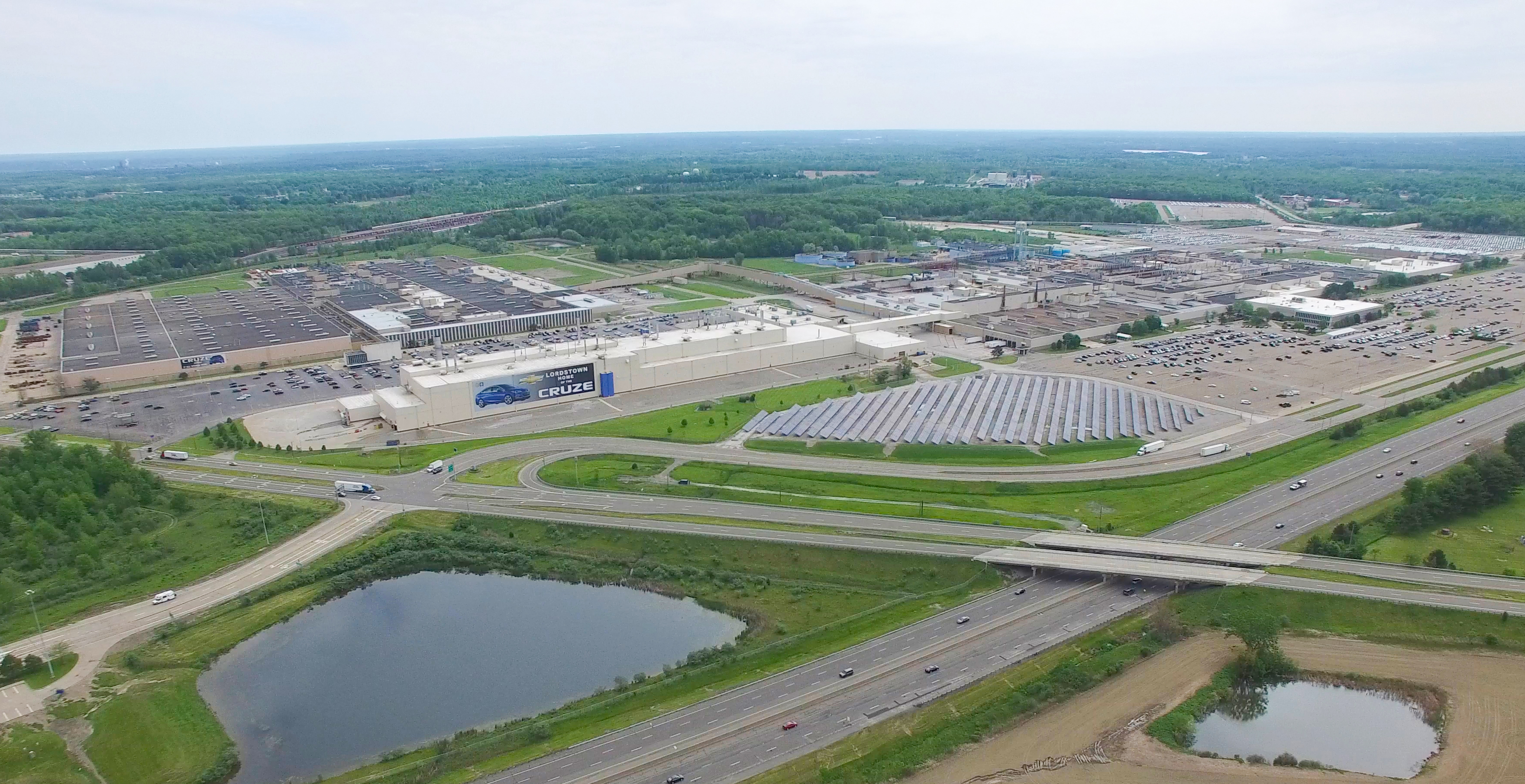Lordstown (OH) Assembly Plant - Aerial View (2017)