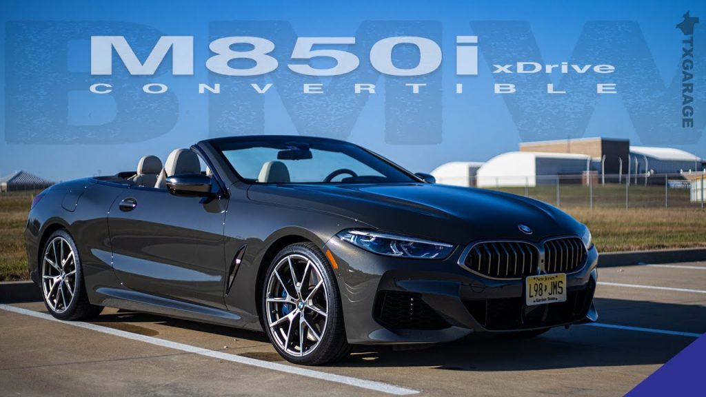 Enjoying that Exhaust Note - 2019 BMW M850i Convertible ...