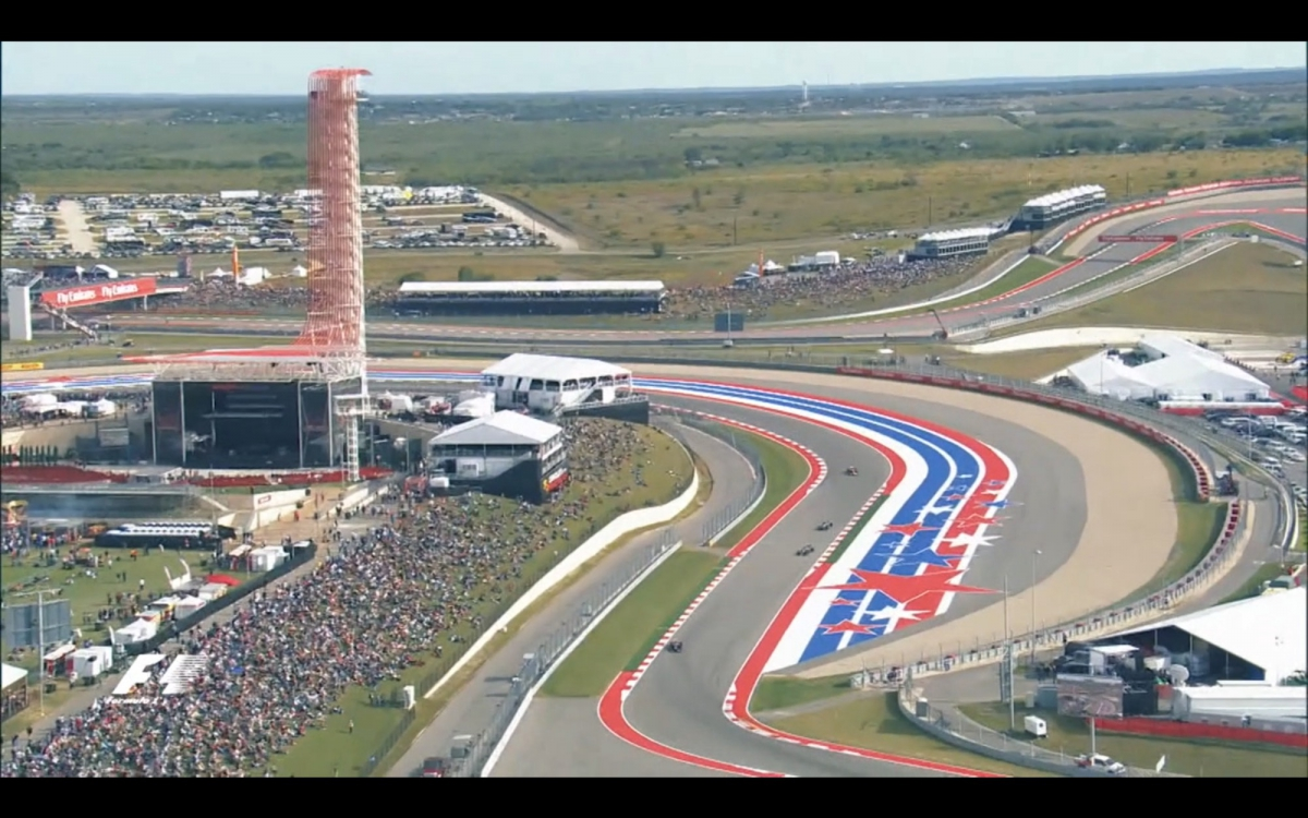 Keep Austin Wired - Formula One Comes to Town October 21-23 | txGarage