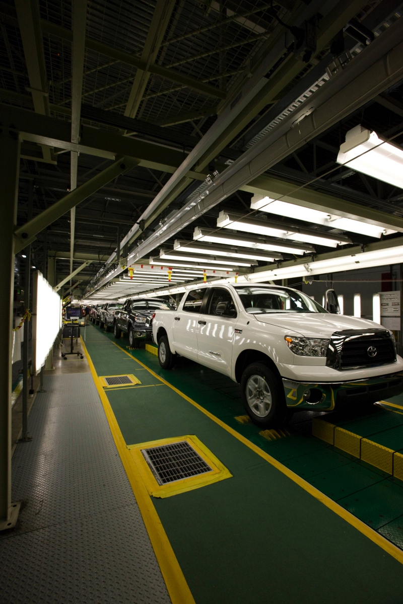 A Look Inside Toyota S Truck Plant San Antonio Rose