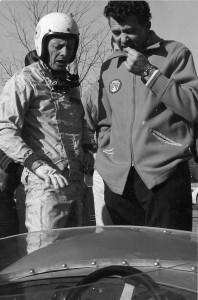 Carroll Shelby and Bob Holbert Green Valley Raceway (King  Cobra)